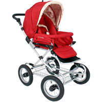 2008 - Queen B Carriage Stroller - Ruby