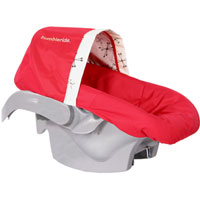 BumbleRide Infant Car Seat Cover - Ruby