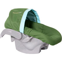 BumbleRide Infant Car Seat Cover - Seagrass